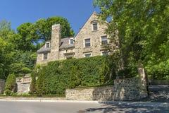 Luxury Stone House Stock Image