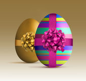 Luxury style easter egg Royalty Free Stock Photo