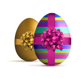 Luxury style easter egg Royalty Free Stock Image