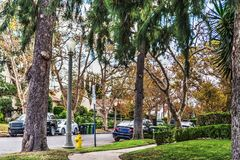 Luxury suburb in southern California. USA Stock Photos