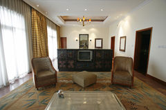 Luxury suite in hotel Stock Images