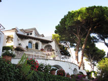 Luxury summer house Stock Photo