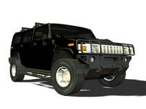 Luxury SUV stock illustration