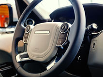 Luxury SUV Interior Stock Photography