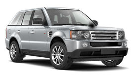 Luxury SUV. On a white background Stock Images