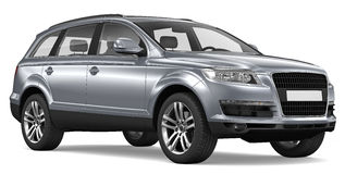 Luxury SUV Royalty Free Stock Photo