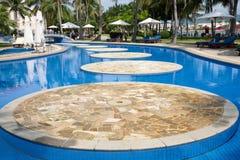 Luxury swimming pool Royalty Free Stock Image