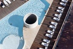 Luxury swimming-pool Royalty Free Stock Photo
