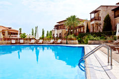 Luxury swimming pool 3 Royalty Free Stock Photo