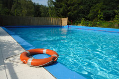 Luxury swimming pool Royalty Free Stock Images