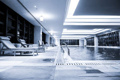 Luxury swimming pool Stock Photography
