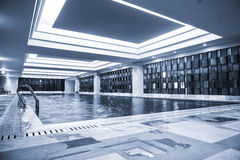 Luxury swimming pool Stock Photos