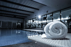 Luxury swimming pool Stock Image