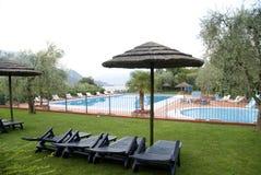 Luxury swimmingpool Stock Photography