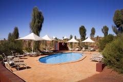 Luxury swimmingpool Royalty Free Stock Image