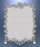 Luxury Swirl Frame Stock Images