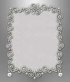 Luxury Swirl Frame Royalty Free Stock Photos