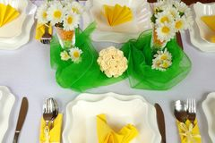 Luxury table Stock Image