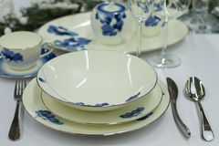 Luxury table set Royalty Free Stock Photography