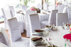 Luxury table set Royalty Free Stock Photo