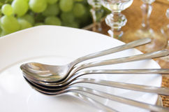 Luxury table setting Stock Photos