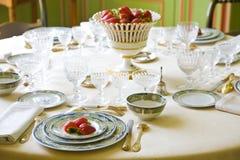 Luxury table setting Stock Photo