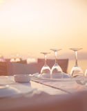 Luxury table setting Royalty Free Stock Images