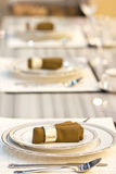 Luxury Table Setting. Royalty Free Stock Images
