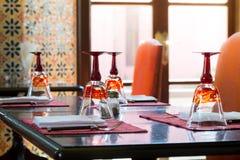 Luxury Table Settings Royalty Free Stock Image