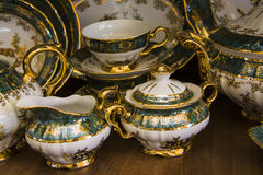 Luxury  tableware Royalty Free Stock Images