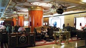Luxury Tea House. Tea House in Starhill Gallery Kuala Lumpur Royalty Free Stock Photo