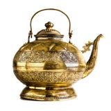 Luxury teapot Stock Image