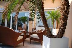 Luxury terrace royalty free stock image
