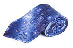 Luxury Tie On White Royalty Free Stock Photography