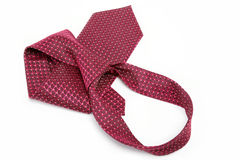 Luxury tie on white. Luxury tie on white background Royalty Free Stock Image