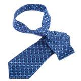 Luxury tie on white background Stock Photo