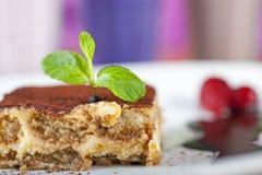 Luxury tiramisu dessert Royalty Free Stock Images