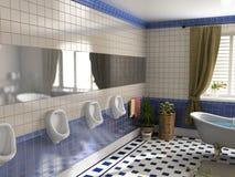 luxury toilet Στοκ Εικόνες