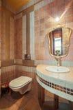 Luxury toilet interior Royalty Free Stock Photography