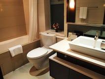 Luxury toilet Stock Images