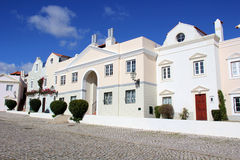 luxury town houses Stock Photography