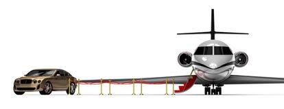 Luxury transportation Stock Image