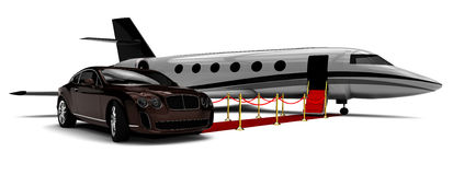 Luxury transportation Stock Photography