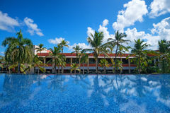 Luxury tropical hotel Royalty Free Stock Photo