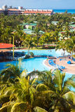 Luxury tropical hotel resort Royalty Free Stock Image