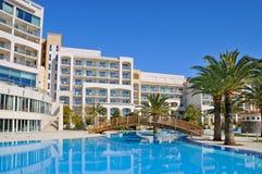 Luxury tropical hotel resort Royalty Free Stock Photos