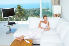 Luxury of a tropical lifestyle Stock Photo