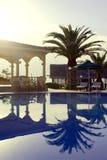 Luxury tropical resort Stock Image