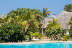 Luxury tropical resort Royalty Free Stock Photo