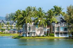 Luxury tropical resort villa Stock Image